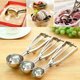 Nowa kuchnia lody Mash ziemniaczane Scoop łyżka ze stali nierdzewnej wiosna uchwyt akcesoria kuchenne hurtownie 3 rozmiar do wyb