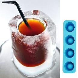 MOONBIFFY taca na kostki lodu formy sprawia, że kieliszki forma lodowa nowości na prezent tacka do lodu lato narzędzie do picia