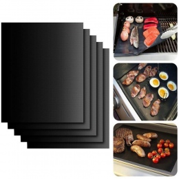 Meijuner 2 sztuk non-stick grill mata do grillowania mata do pieczenia kuchenne teflonowe grillowania arkusz odporność na ciepło