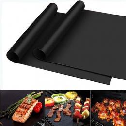 Meijuner non-stick grill mata do grillowania 40*33 cm mata do pieczenia kuchenne teflonowe grillowania arkusz odporność na ciepł