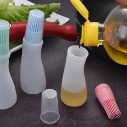 1 sztuk wysokiej temperatury butelki silikonowe szczotka kuchnia narzędzia do grillowania grill szczotka szczotka do butelek kre