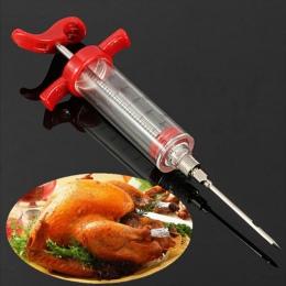 Narzędzia BBQ grill strzykawki sos Barbecue infekcji narzędzie turcji strzykawki