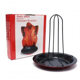 Nowa kuchnia na świeżym powietrzu narzędzia do grillowania kurczaka kaczka uchwyt stojak Grill stojak pieczenia do grillowania ż