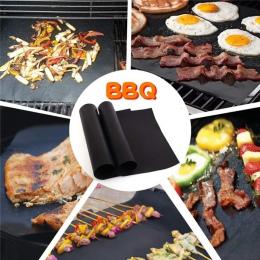 1 sztuk non-stick Grill Grill Pad łatwe do czyszczenia akcesoria kuchenne narzędzia sprzęt do grillowania mata do pieczenia kuch