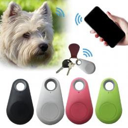 Zwierząt domowych inteligentny mini urządzenie śledzące GPS Anti-Lost wodoodporny Bluetooth Tracer dla zwierząt domowych pies ko