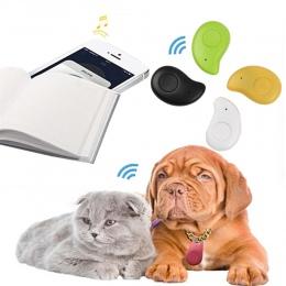 Zwierząt domowych inteligentny mini urządzenie śledzące GPS z baterią Anti-Lost wodoodporny Bluetooth Tracer klucze kopertówka d