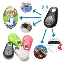 Zwierząt domowych inteligentne Mini GPS dla psów Tracker Anti-Lost Alarm wodoodporna Bluetooth Tracer dla zwierząt domowych port