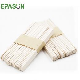 Epson 40 sztuk/partia drewniane patyczki do lodów Pop patyczki do lodów sztuki rzemiosło naturalne drewno ciasto narzędzia dziec