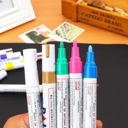 Mazak permanentny olej biały-Ink Mark długopisy artykuły papiernicze szkolne i biurowe cd mark marker drewna marker długopis roc
