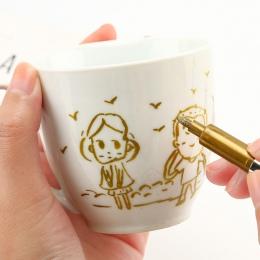 Metal kolor wodoodporne trwałe malowanie marker do malowania 1.5mm DIY Manga rysunek rzemiosło długopisy biurowe biurowe szkolne