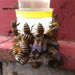 SenNan 2 sztuk automat do wody Bee Queen Bee sprzęt do wody pitnej łatwa instalacja łatwe w obsłudze narzędzia pszczelarskie