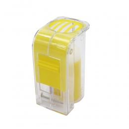 1 sztuk królowa znakowania Catcher plastikowe jednoręczne butelki Marker tłok pluszowe pszczelarz narzędzia ogrodowe pszczelarz