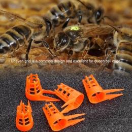 30 sztuk/paczka pszczoła królowa czapki ochronne komórkowych narzędzia pszczelarskie dla gospodarstwa pszczoła sprzęt do karmien