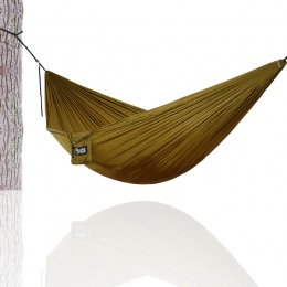 Piesze wycieczki Camping 270*140 cm Hamak przenośne nylonu spadochron Hamak wiszące krzesło huśtawka na zewnątrz podwójna osoba