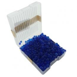 Żel krzemionkowy Box 1 pc wielokrotnego użytku biały pomarańczowy niebieski żel krzemionkowy pochłaniacz wilgoci chłonne osuszac