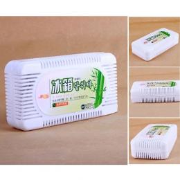 Dezodorant Box lodówka środek do usuwania zapachu oczyszczacz powietrza aktywowany bambusa węgiel lodówka dezodorant Box zapach