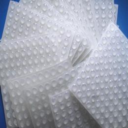 50 sztuk/zestaw podkładka silikonowa samoprzylepne stopy zderzaki jasne półkole zderzaki drzwi szafka szuflady bufor klocki sili