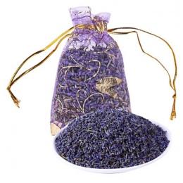 1 sztuk/partia naturalne lawenda Bud suszone kwiaty saszetka aromaterapia eteryczny odświeżania powietrza