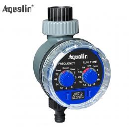 Zegar podlewania ogrodu zawór kulowy automatyczny elektroniczny wodomierz domu zegar do nawadniania ogrodu sterownik systemowy #