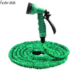 Gorący sprzedawanie 25FT-100FT wąż ogrodowy rozbudowy magia elastyczny wąż do wody ue wąż z tworzywa sztucznego węże rury z pist
