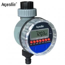 Automatyczne elektroniczny wyświetlacz LCD domu zawór kulowy czasowy wyłącznik przepływu wody do podlewania ogrodu sterownik naw