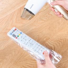 5 paczek 25 sztuk folia termokurczliwa wyczyść wideo TV klimatyzacja pilot zdalnego sterowania Protector pokrywa Home wodoodporn
