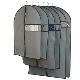 Ubrania kurz pokrywa włóknina tkanina Case dla gospodarstw domowych wiszące typu płaszcz garnitur ochrony worek do przechowywani