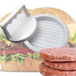 1 zestaw okrągły kształt prasa do hamburgerów tworzywa sztucznego nadającego się do kontaktu z żywnością Hamburger mięso wołowin