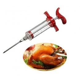 Hoomall igły ze stali nierdzewnej przyprawy Marinade strzykawki wtryskiwacz smak strzykawka gotowanie mięso drób indyk kurczak n