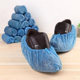 1 opakowanie/100 sztuk medyczne wodoodporne osłony na buty z tworzywa sztucznego jednorazowe ochraniacze na obuwie ochraniacze n