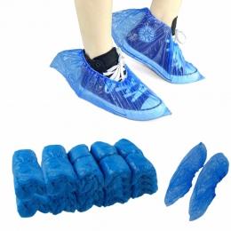 100 sztuk/paczka medyczne wodoodporne osłony na buty z tworzywa sztucznego jednorazowe ochraniacze na obuwie domy ochraniacze na