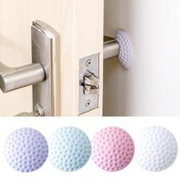 Klamka do drzwi zderzak gumowa blokada mata Pad ściany osłona zabezpieczająca drzwi korek
