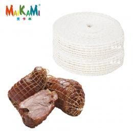 3 metr bawełna mięsa netto szynka kiełbasa netto rzeźnika ciąg kiełbasa rolka sieciowa Hot Dog netto kiełbasa narzędzia do pakow