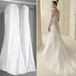 Bardzo duże odzieży suknia ślubna długie ubrania Protector Case suknia ślubna pokrywa pyłoszczelna obejmuje worek do przechowywa