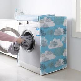 Do prania w domu maszyna do przechowywania organizator osłony przeciwpyłowe podkładka pokrywa urządzenia wodoodporny ochraniacz