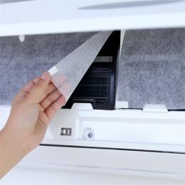 10 sztuk klimatyzacja wiatr Pokrywa ochronna gniazdo odporna na kurz samoprzylepne papier filtracyjny oczyszczania powietrza ocz