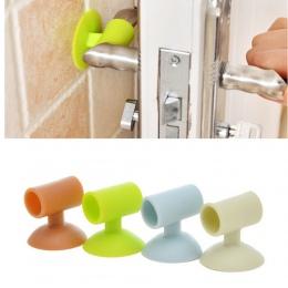 Domu klamka do drzwi gałka silikonowa klamka osłona bezpieczeństwa straż Protector Baby Protector produkty ochrony dzieci-kolizj