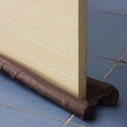 Gorąca sprzedaż brązowy podwójne stoper do drzwi podwójny uszczelka powietrza izolator Windows Dodger osłona oszczędność energii