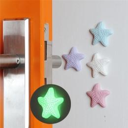 Drzwi gałka obejmuje mocny żel drzwi z powrotem pokrętło ochraniacz ścienny odporny na wstrząsy Crash Pad cichy pad