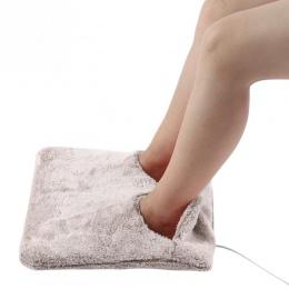 Stóp ręcznie cieplej poduszka rozgrzewająca kapcie Sofa krzesło ciepła poduszka elektryczne podgrzewane podkładki ciepłe buty zi