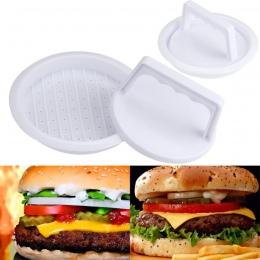Patty naciśnij formularz z hamburgerami formierka okrągły mięsa przepuścić przez maszynkę do mięsa grill DIY nadziewane Hamburge