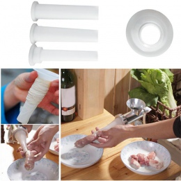 14 M * 26 MM pieczone kiełbasy suszone kiełbasa Hot Dog kolagenu obudowa Shell skóry + domowej roboty kiełbasa farsz mięso maszy