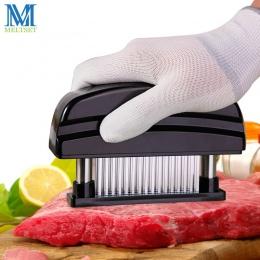 Profesjonalne 48 sztuk igły ze stali nierdzewnej urządzenie do rozbijania mięsa kuchnia gotowanie narzędzia delikatne mięso młot