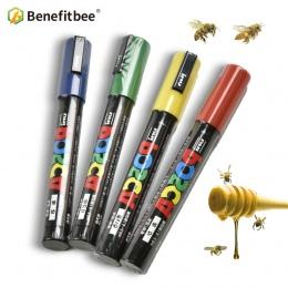 Benefitbee zawodu królowa pszczół oznaczenie Marker Pen 1 sztuk pszczoły nieszkodliwe narzędzia pszczelarskie Queen Bee znak pla