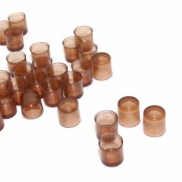 60 sztuk/zestaw z kubkiem hodowli brązowych komórek kubki na pszczelarstwo pszczelarstwo królowa System skrzynki Cupularve narzę