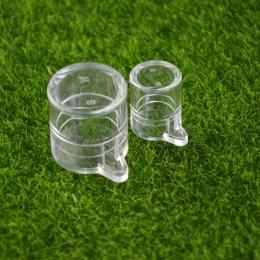 Okrągły dwa rozmiary obszar karmienia wodą dla gniazda mrówek, ant farm akryl lub mrówki owadów mrówka zwierzęta domowe są mania