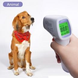 Cyfrowy wyświetlacz o wysokiej precyzji zwierzęta domowe są termometr elektroniczny zwierząt termometr bezdotykowy termometr na