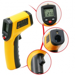 Weterynaryjnych cyfrowy bezkontaktowy termometr na podczerwień zwierząt domowych narzędzia farmerskie na rzecz sprzętu do wielof
