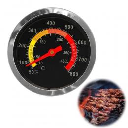 Nowe ze stali nierdzewnej grill palacz termometr grillowy wskaźnik temperatury 10-400Degrees stopni celsjusza
