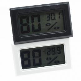 LanLan Mini LCD termometr cyfrowy higrometr kryty przenośny czujnik temperatury przyrządach do pomiaru wilgotności